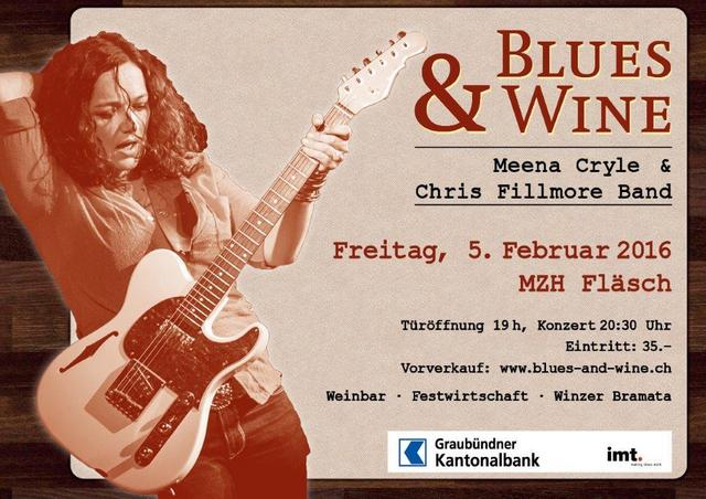 Blues & Wine in Fläsch